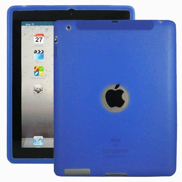 Mjukskal Logo (Blå) Skydd för din iPad 3/iPad 4