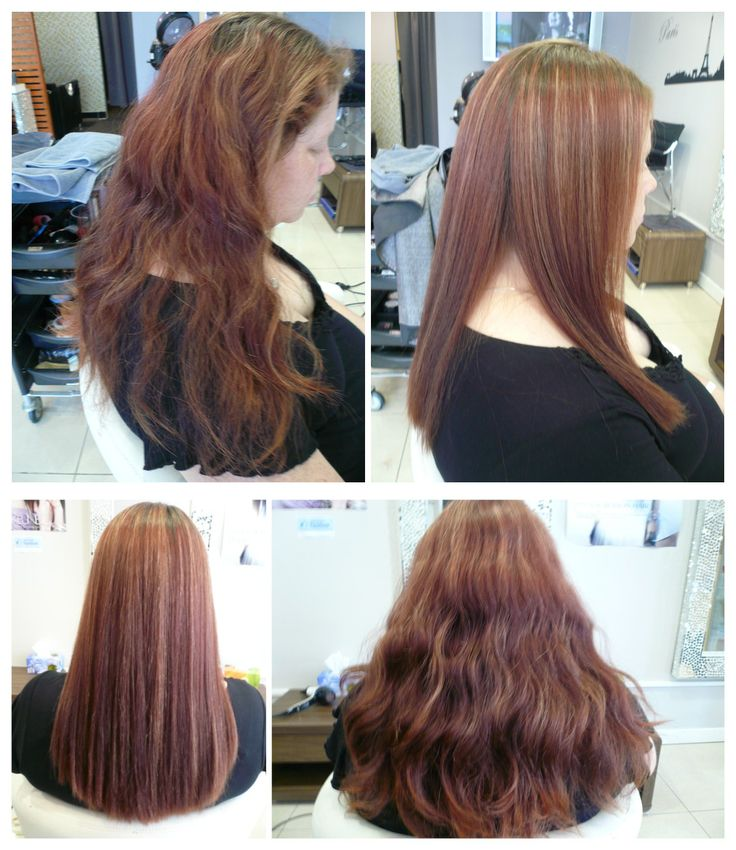 Japanese Hair Straightening Treatment - this is a permanent straightening application that removes all curl/wave as well as smooths the cuticle!  Beautiful