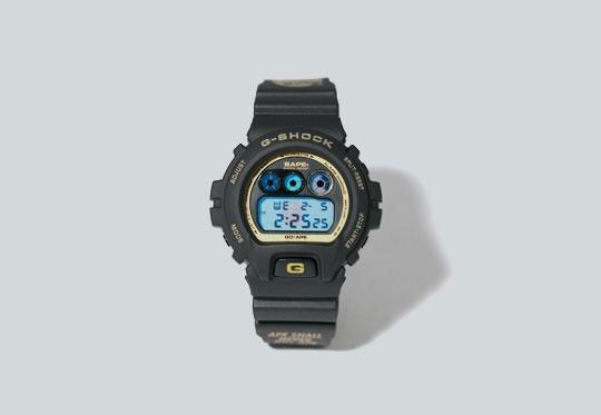 Bape x G-Shock DW-6900 Watch