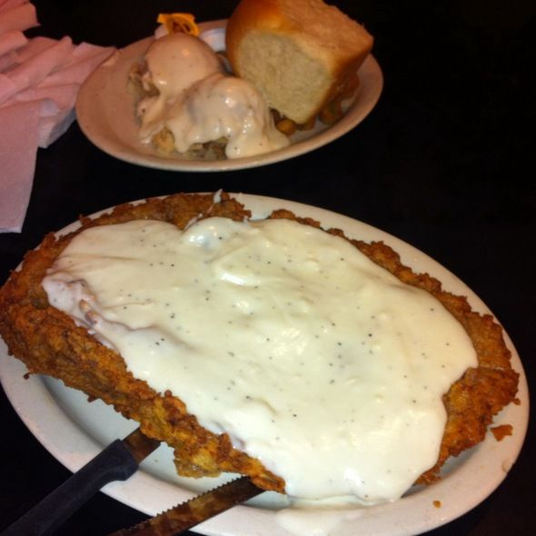 Chicken Fried Steak @ Lulu's Bakery & Cafe - San Antonio, TX