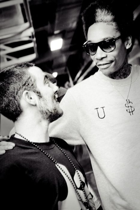 mac miller & wiz khalifa , two of my favorites (: