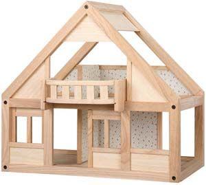 Dockhus & tillbehör Plan Toys - Trä-Otto nätbutik 995:-