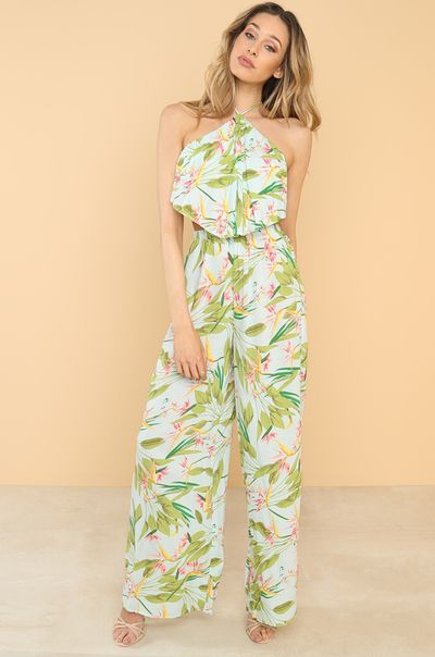 Al Fresco Jumpsuit - Light Blue