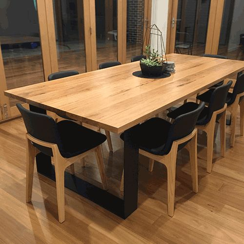 THE MONARCH DINING TABLE The Monarch Is Sophisticated And Stylish Dining Table An Australian Hardwood Vic Ash Top With Square Cornered