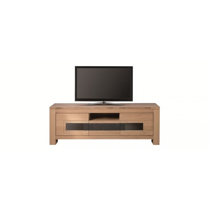 meuble tv graal monsieur meublel176cm h61cm p49cm - Meuble Tv Blanc Modele Lions