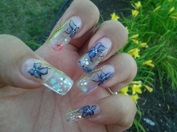34 best Aqua Nails images on Pinterest   Aqua nails, Aquarium nails ...