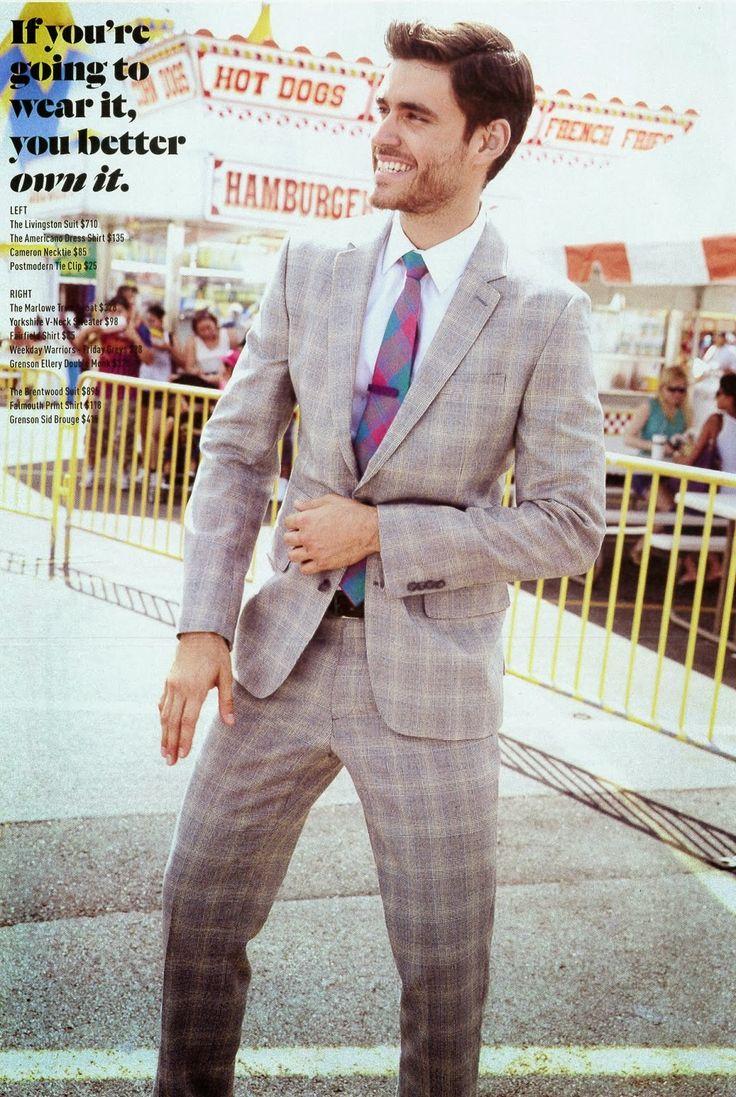 """Caio César © Reprodução O capixaba Caio César, 25, é um modelo que transita entre o fashion e o comercial. Foi capa da """"Made in Brazil"""", além de estampar editoriais da revista. Lá fora aparece nas páginas de """"L'Officiel"""" Hommes e """"Details"""", além das campanhas da Lowe e Calzedonia. Agência: Mega Model Brasil Altura: 1,88 m Tórax: 100 cm Terno: 50L Manequim: 40 Sapatos: 43 Camisa: 04 Cor dos olhos: verdes Cor dos cabelos: castanhos Caio César © Reprodução"""
