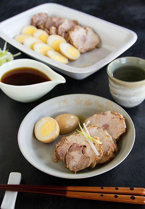 Making nibuta japanese simmered pork shoulder cuisine for Asiatique cuisine