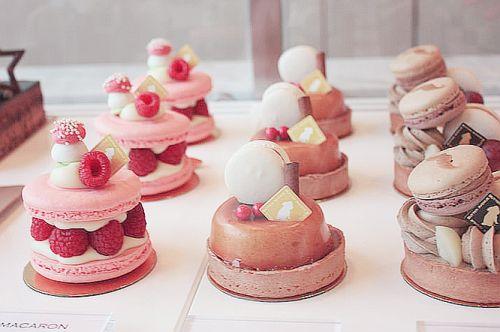 ♡• CʋTε F00D~~ •♡ macarons - berries - icing - sprinkles - pastries - japanese sweets - kawaii