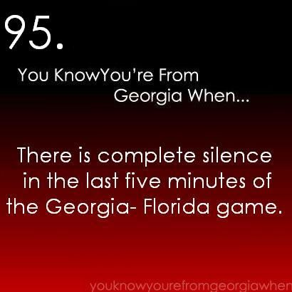 I was born in Gainesville, but I'm now moving to Athens (area) and I TOTALLY get this.