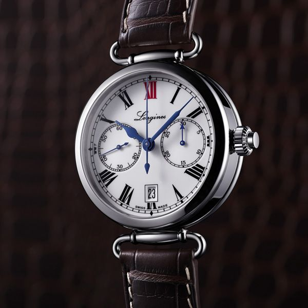 Heritage and Tradition Longines Column-Wheel Single Push-Piece Chronograph(See more at En/Fr/Es: http://watchmobile7.com/articles/longines-column-wheel-single-push-piece-chronograph) (1/5) #watches #longines #longineswatches @not Sury Watches