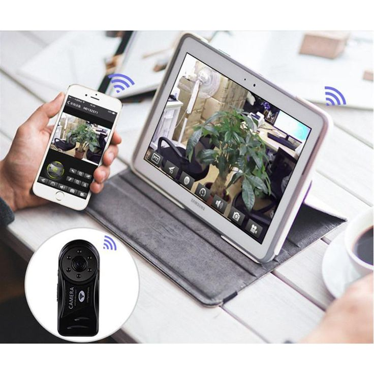 MINI CAMERA WI-FI CON VISIÓN NOCTURNA Y GRABADORA DE SONIDO   MINI WIFI DVR WIRELESS IP CAMERADOR NIGHT VISION MOTION DETECTION BUILT IN MICROPHONE