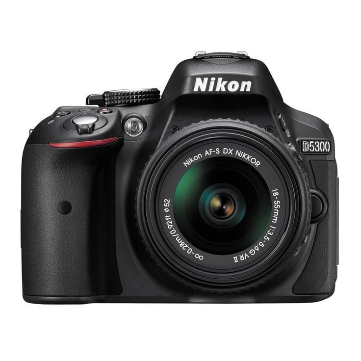 #Nikon D5300 24.2MP with 18-55mm #VR II #Lens #Camera #Photography #DSLR #Tech