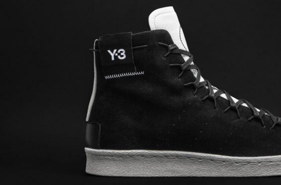 31bd753b5dbe The adidas Y-3 Super High Black White Pays Tribute To The adidas Originals  Superstar