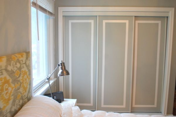DIY this: paint sliding closet doors for trim effect ‹ the sweetest digsthe sweetest digs: