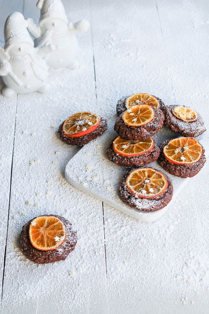 Cookies chocolat orange {sans lait} - aime & mange