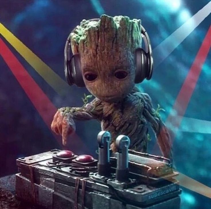 Don't push that button Groot!