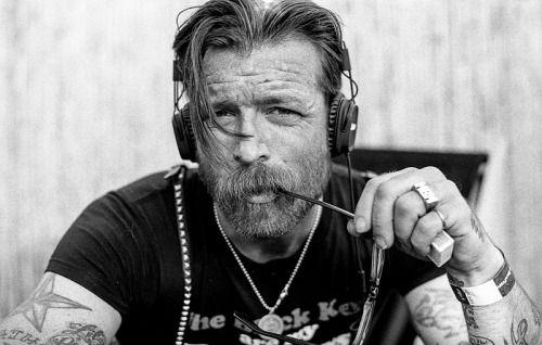 Jesse Hughes of Eagles Of Death Metal by Boris Allin