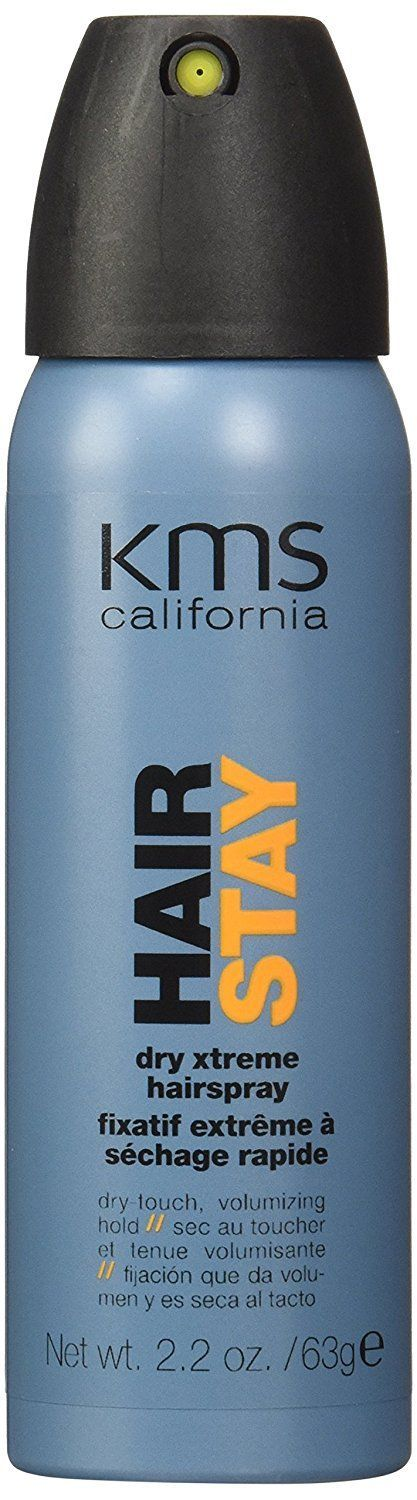 KMS California Hair Stay Dry Xtreme Hairspray, 2.2 oz ** You can get more details here : Hair Scalp Care