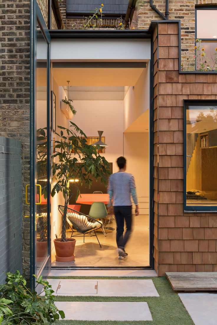 The Etch House is a traditional two storey terraced house, the project looks to achieve a non-typical loft extension and side infill extension.
