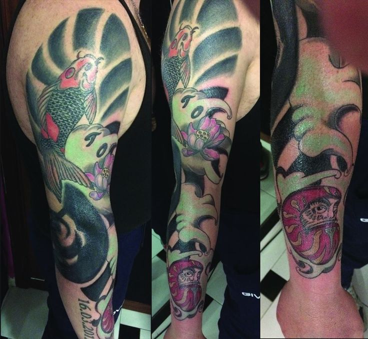 japan tattoo slevee from our tattoo studio @silverskint