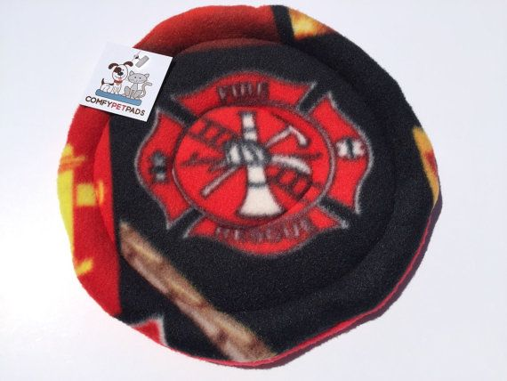 Firefighter Toy Fleece Frisbee Firefigther Ladder by ComfyPetPads