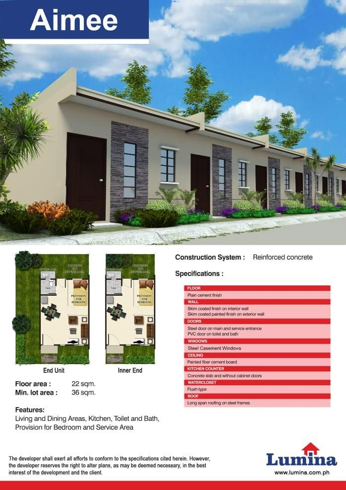 Lumina Homes 1bedroom 1toilet Bath For Sale Small Apartment Building Design Small Apartment Building Apartments Exterior