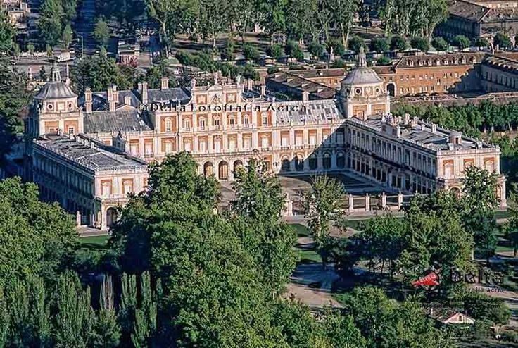 Palacio Real de Aranjuez (Madrid) España. ©Delta Fotografía Aérea.