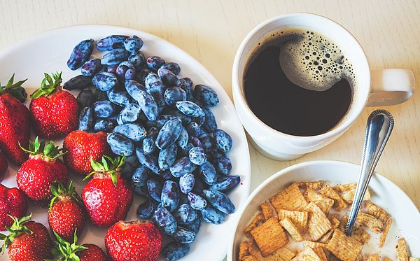 Healthy Breakfast Photograph by Nadezhda Tikhaia   #NadezhdaTikhaiaFineArtPhotography #ArtForHome #HomeDecor #Food #InteriorDesign #FineArtPrints