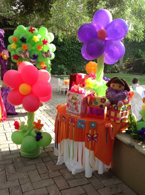Dora the Explorer Birthday Party Ideas | Photo 8 of 18