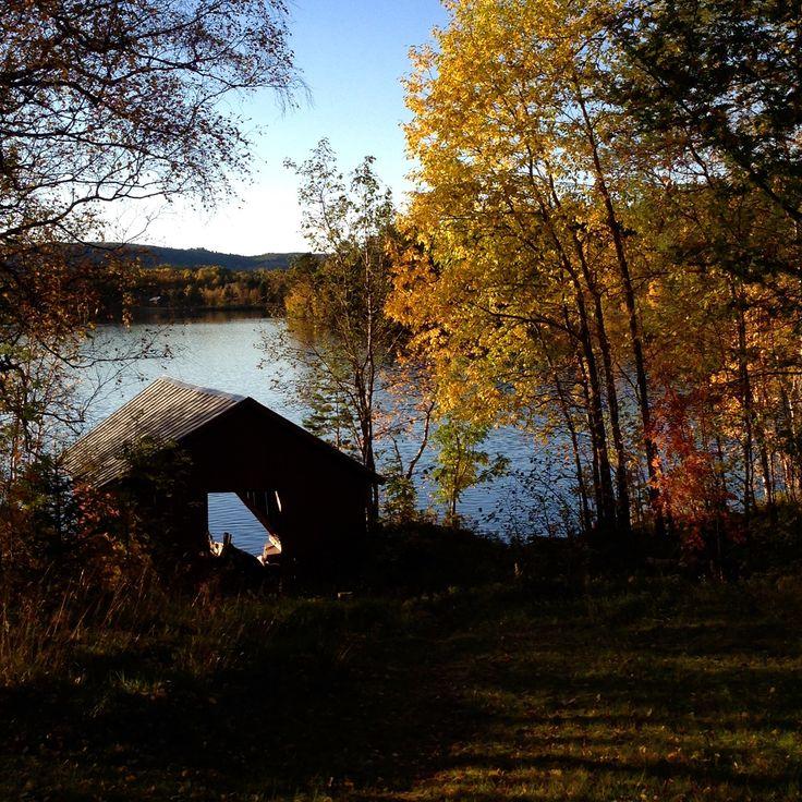 Frönäsets båthus - Ängersjö höst 2015