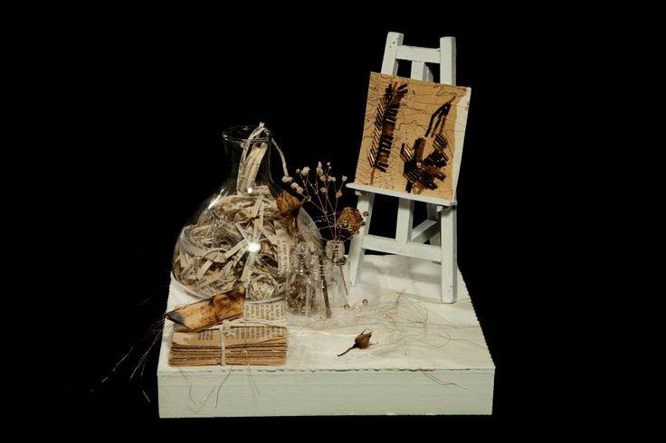 """ArTe oBJETO & LiBro ArTe """" Es-Cultura"""" Creación 2010 - 2012 - 2013 Copyright © SARAH HOUGHTON ART"""