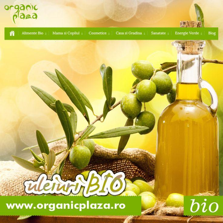 Ulei de Masline Bio si Ulei de Floarea Soarelui Bio! http://organicplaza.ro/ulei-de-masline-si-de-floarea-soarelui