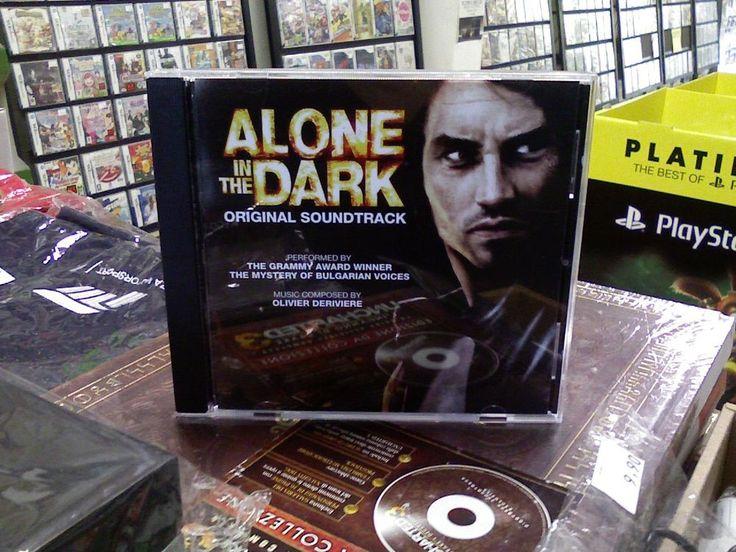ALONE IN THE DARK colonna sonora del gioco   da collezione