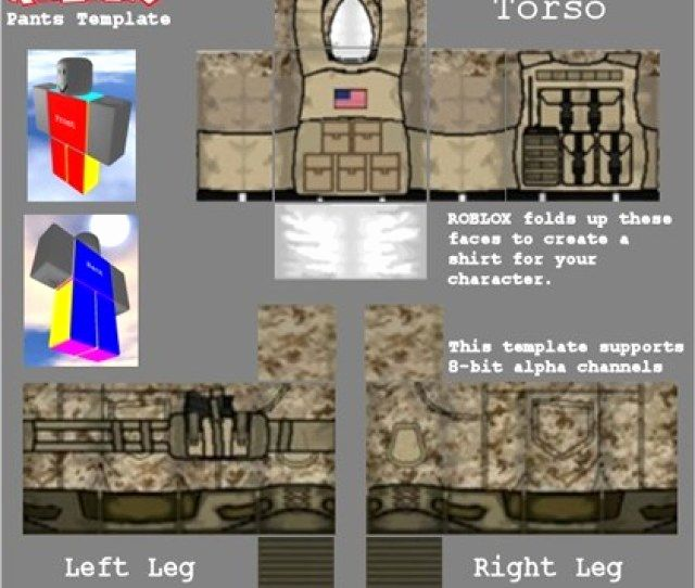 Roblox Military Uniform Templates Unique Roblox Military Template