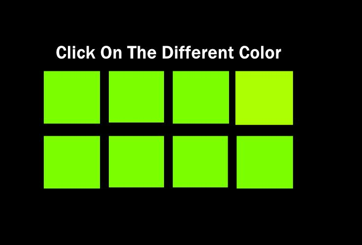 One color is always slightly different. Can your eyes spot it? Take this quiz to find out. #color