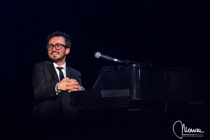 Teatro Arcimboldi (4-02). #GiuseppeBarbera #Amami #Arisa