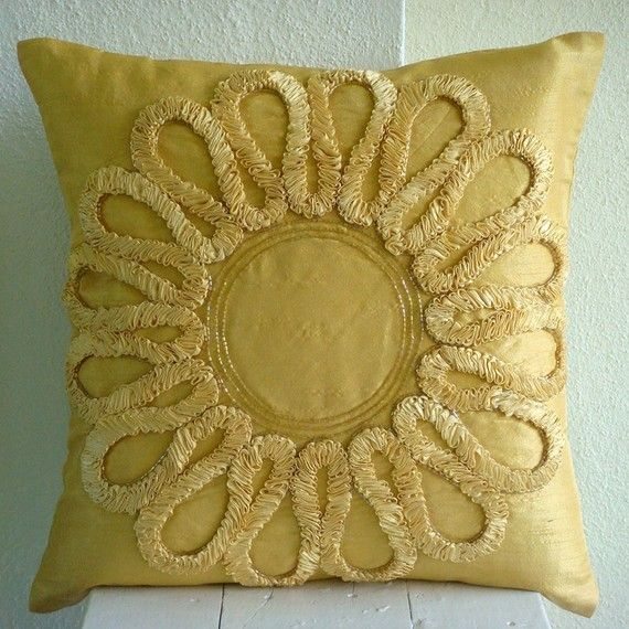 We all Blossom  Euro Sham Covers  26x26 Inches by TheHomeCentric, $65.00