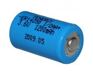 ER14250 1/2AA STD 3.6V Lithium Thionyl Chloride Battery by TNGY. $5.98. This 1/2 AA Lithium Thionyl Chloride battery is ideal for wireless alarm systems such as the MCPIR-3000, memory backup for computers like the Apple Macintosh (Parameter Random Access Memory, Parameter RAM, or just PRAM), high tech Suunto dive computers, some Aladin Dive Computers, most ITI, Radionics, ADT Alarm Transmitters and DogWatch 3000 Invisible Fence Systems. Lithium Thionyl Chloride has...