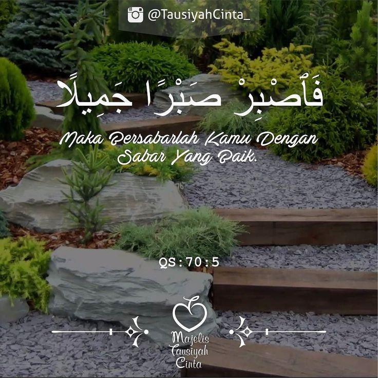 Bersabarlah... Karena itu adalah salah satu yang membuat hati akan tentram. .  اللهم صل على سيدنا محمد و على آل سيدنا محمد .  Like dan Tag 5 Sahabatmu Sebagai Bentuk Dakwah Kita Hari Ini.. .  #Dakwah #Cinta #CintaDakwah #TausiyahCinta #Islam #Muslim #Muslimah #Tausiyah #Muhasabah #PrayForAllMuslim #Love #Indonesia #Quran #AlQuran  M A J E L I S  T A U S I Y A H  C I N T A   { Dakwah dan Inspirasi }