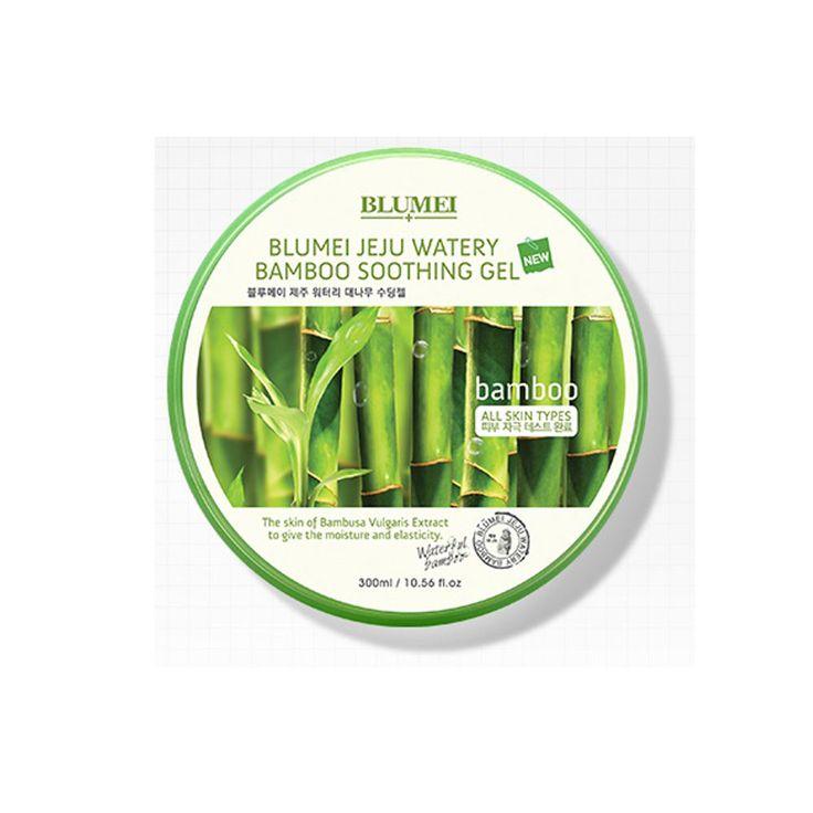 Blumei Jeju Watery Baboo Soothing Gel 10.56fl.oz (x2p) Skin Care Cosmetics Korea #Blumei
