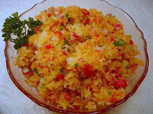 Old-Fashioned Sauerkraut Salad