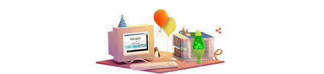 Google cumple 17 años y lo celebra con un nuevo Doodle   HOY domingo se cumple otro año de la creación de la página de búsquedas más importante de Internet y acá te contamos algunas de las curiosidades de la empresa.  En 1997 dos estudiantes de la Universidad de Stanford Larry Page y Sergey Brin decidieron que tenían que cambiar elfuncionamiento de Internet y desde un garage en California desarrollaron el buscador de información más utilizado e importante de la historia: Google.  A…