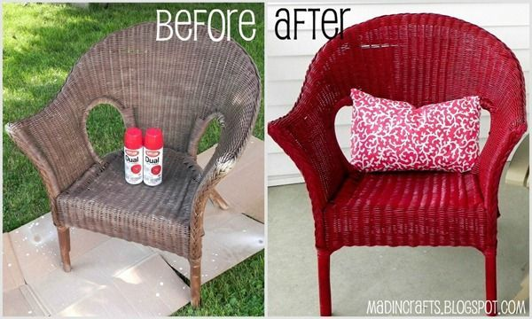 Tips on spray painting wicker. (Like buy a spray paint trigger)