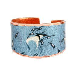 'Blue Jay' Artist Collection Copper Ring
