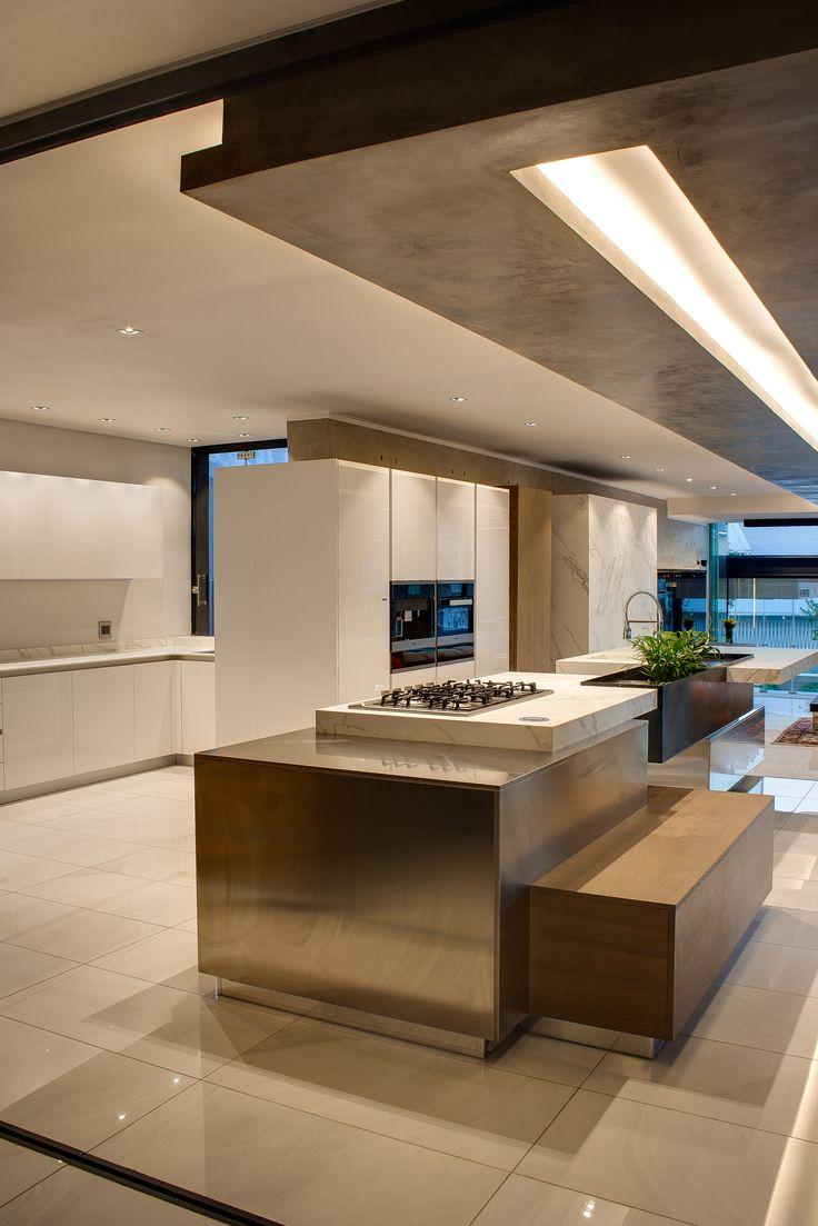 House NTS | Cooking | Nico van der Meulen Architects & M Square Lifestyle Design #kitchen #Contemporary #interior #Architecture