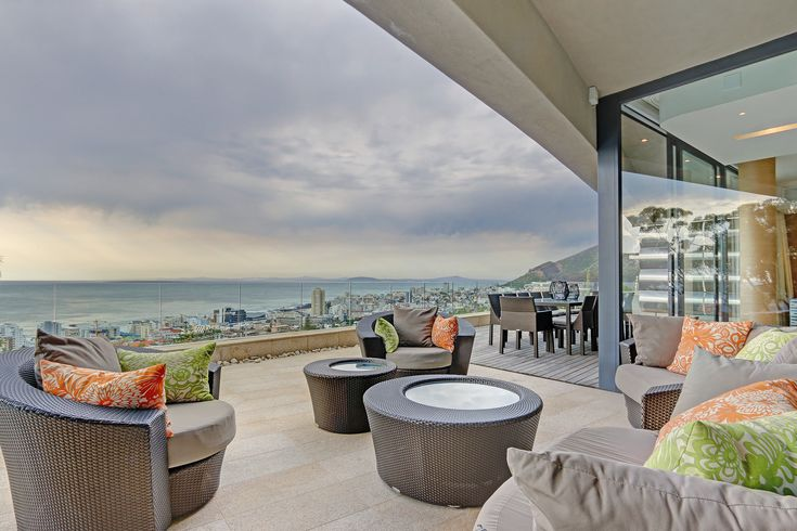 Places to stay in Cape Town!  Vast ocean views and luxury make this the perfect Vacation Home!  #seaviews #capetown #holiday