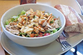 Panera Bread Restaurant Copycat Recipes: Thai Chopped Chicken Salad
