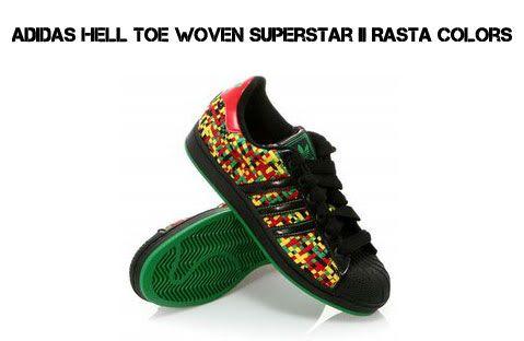 Details about Adidas Originals RASTA Superstar Hemp Jamaican