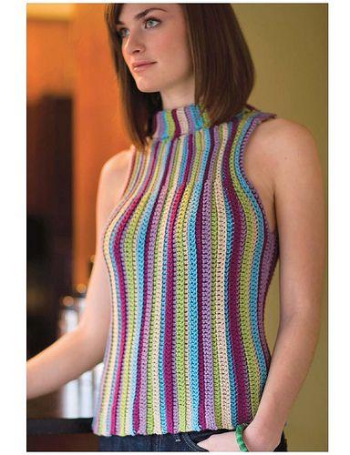 crochet stripe sweater pattern